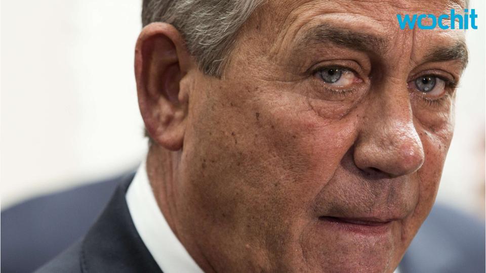 'Coup' Rumblings Dog Boehner